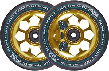 North Pentagon 120mm Ruedas Scooter 2 Unidades (120mm - Oro ...