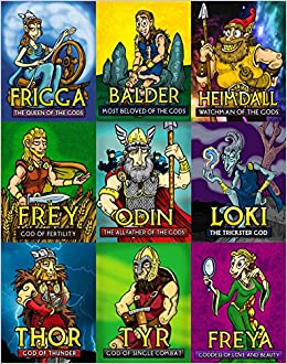 Norse God and Goddess Posters (Set of 9): Zachary Hamby