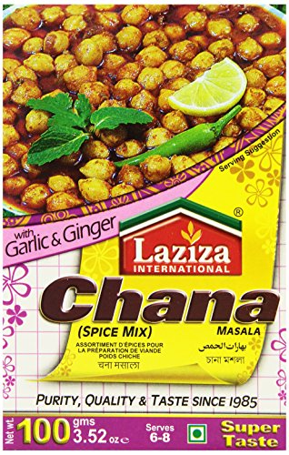 Laziza Chana Masala, 100-Gram Boxes (Pack of 6) by Laziza