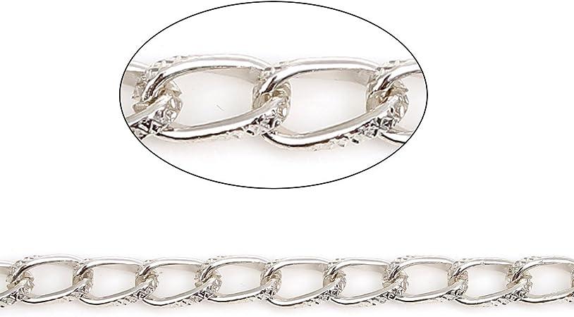 Bulk Curb Link Chain Heavy Cable Chain Handbag Chain Purse Chain Silver Gold