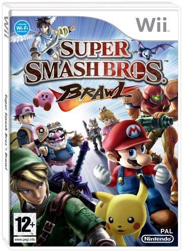 Super Smash Bros Brawl Wii (Wii Mario Smash Bros)