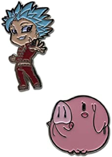 Amazon.com: The Seven Deadly Sins Mascot Figure Keychain ...