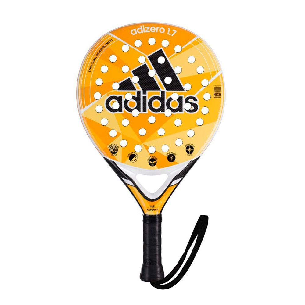 Amazon.com : adidas Padel Racket -Adizero 1.7 -Carbon 3K ...