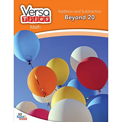 hand2mind VersaTiles Math Books Grade 1 (Addition and Subtraction: Beyond 20): Industrial & Scientific