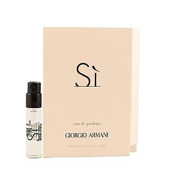 Amazon. Com: giorgio armani si sample size mini spray: beauty.