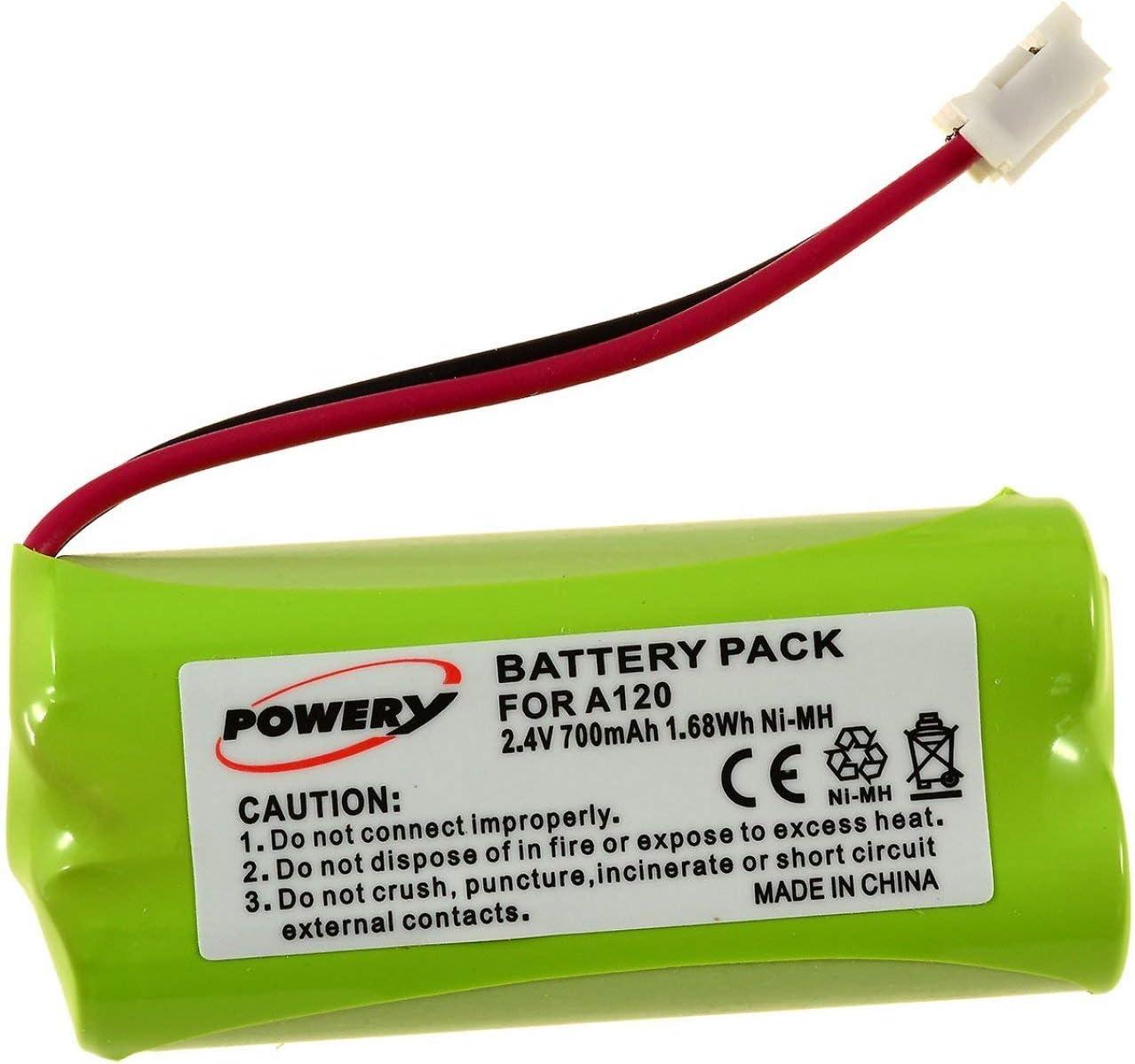 Powery Batería para Siemens gigaset AL140