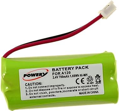 Powery Batería para Siemens gigaset AL140: Amazon.es: Electrónica