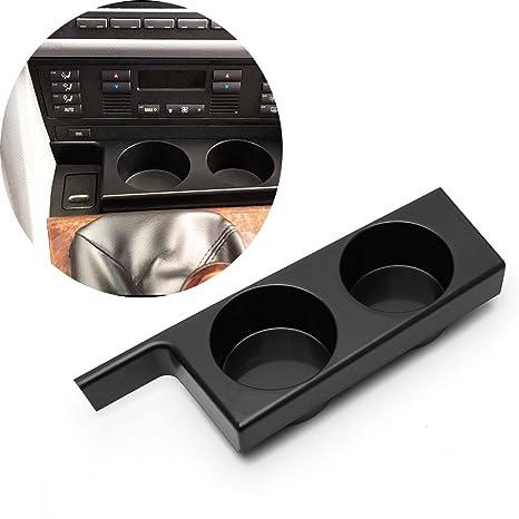 Soporte para coche para BMW E39 Serie 5 97-03 plástico negro portátil para teléfono