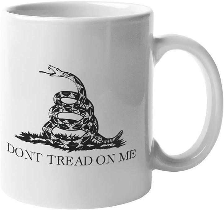 Black Molon Labe Come and Take It 12 oz Ceramic Mug w// 12x18 tea party flag