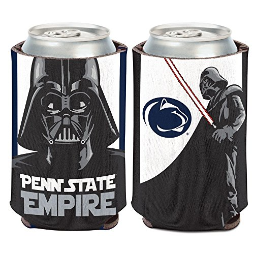 WinCraft Penn State Nittany Lions Official NCAA 4 inch Star Wars Darth Vader Insulated Coozie Can Cooler by 157133