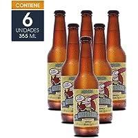 Cerveza Artesanal Chelita, Estilo Lager (Fake Lager), Corazón de Malta, BeerPack con 6 botellas de 355 ml c/u