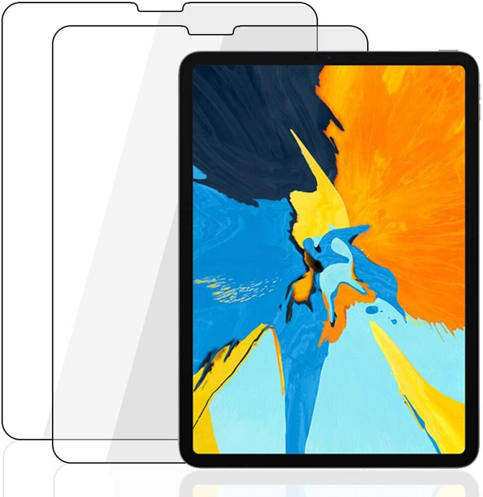 PAWACA IPad Pro 11 Paper-Feels Like Screen Protector,[2 Pack]IPad Pro 10.5/12.9 Writing Screen Film,Japan Anti-Glare Matte PET Paper Texture Feeling Screen Guard for IPad Air 2 9.7 Inch 2018-Not Glass