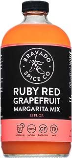 product image for Ruby Red Grapefruit Mix By Bravado Spice Gluten Free, Vegan, Low Carb, Paleo Margarita Mix All Natural 32oz Bottle Award Winning Gourmet Margarita MiX