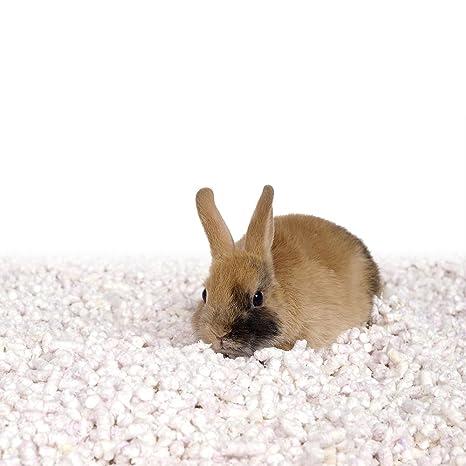 Asan AG+ 100% Arena Natural y Cama de Paja para Conejos, Liebres y Hurones 12 L: Amazon.es: Productos para mascotas