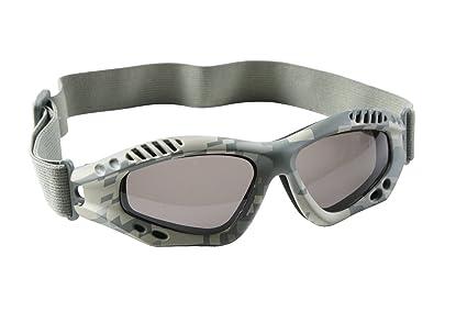 Amazon.com   10378 Army Digital Camo Ventec Tactical Goggle   Sports ... 9e998f863a7