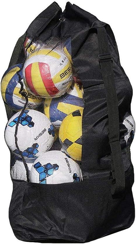 Meliya - Bolsa de Malla con cordón para balones de Baloncesto ...