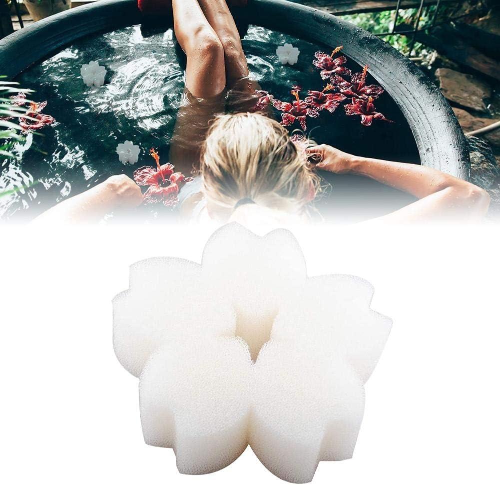 Buding Pools Abschaum Schwamm Pools Schaumschwamm Ball Whirlpool Und Blume Gestalten Schwimmbad /Öl Absorbierende Schwamm Schaumlinienverhinderer Wiederverwendbar 1//10 St/ück