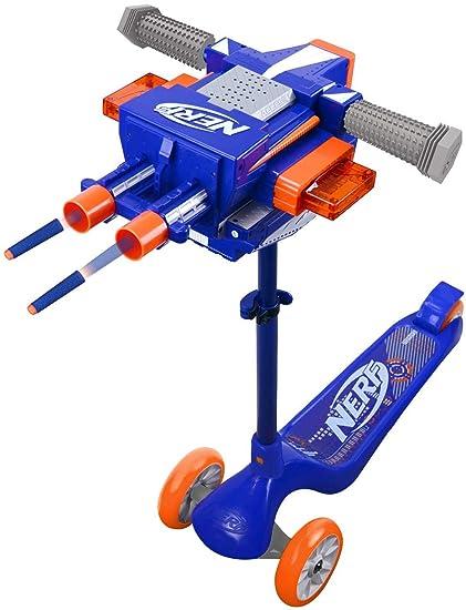 Amazon.com: NERF Blaster - Patinete de 3 ruedas: Sports ...