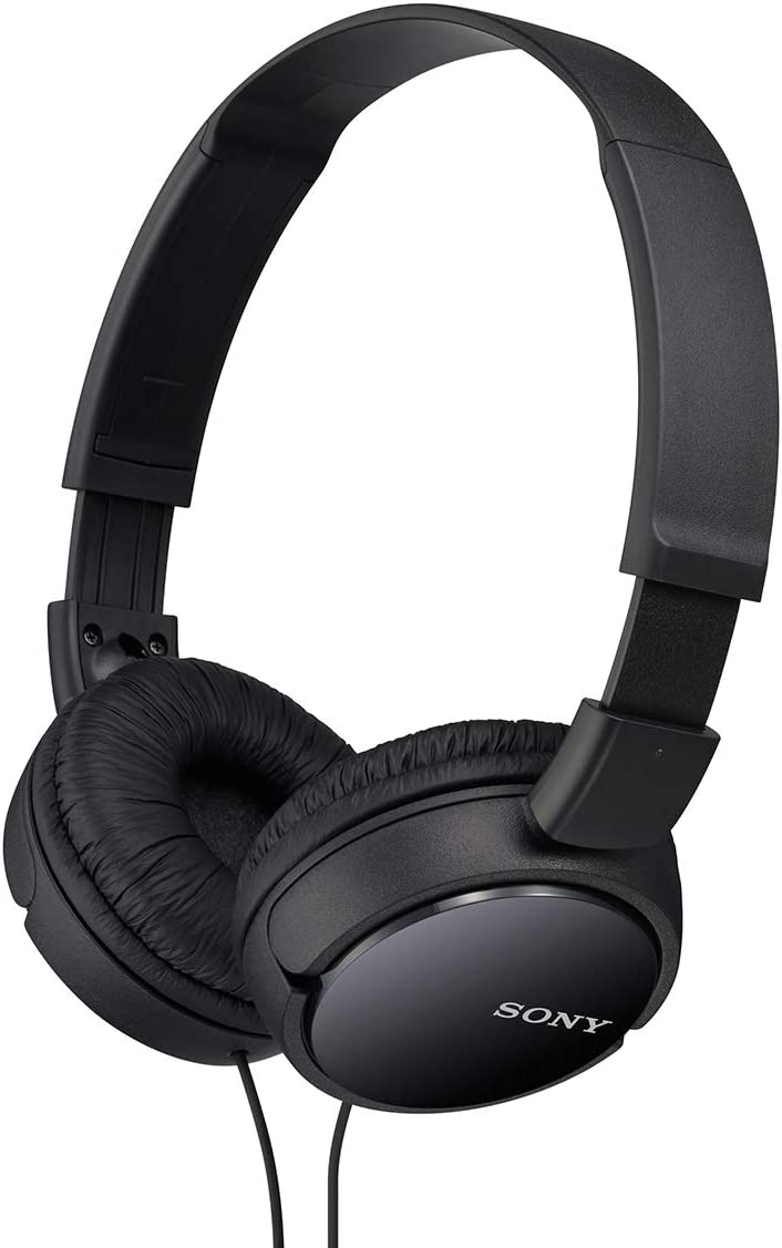 Sony MDRZX110/BLK ZX Series Stereo Headphone For Studio sony is the brad and quality names
