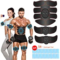 vcloo Abdominal Muscle Trainer Abs Stimulator Muscle Toner Upgraded Fitness Training Equipment Workout Equipment Portable for Men/Women Losing Weight Building Muscle