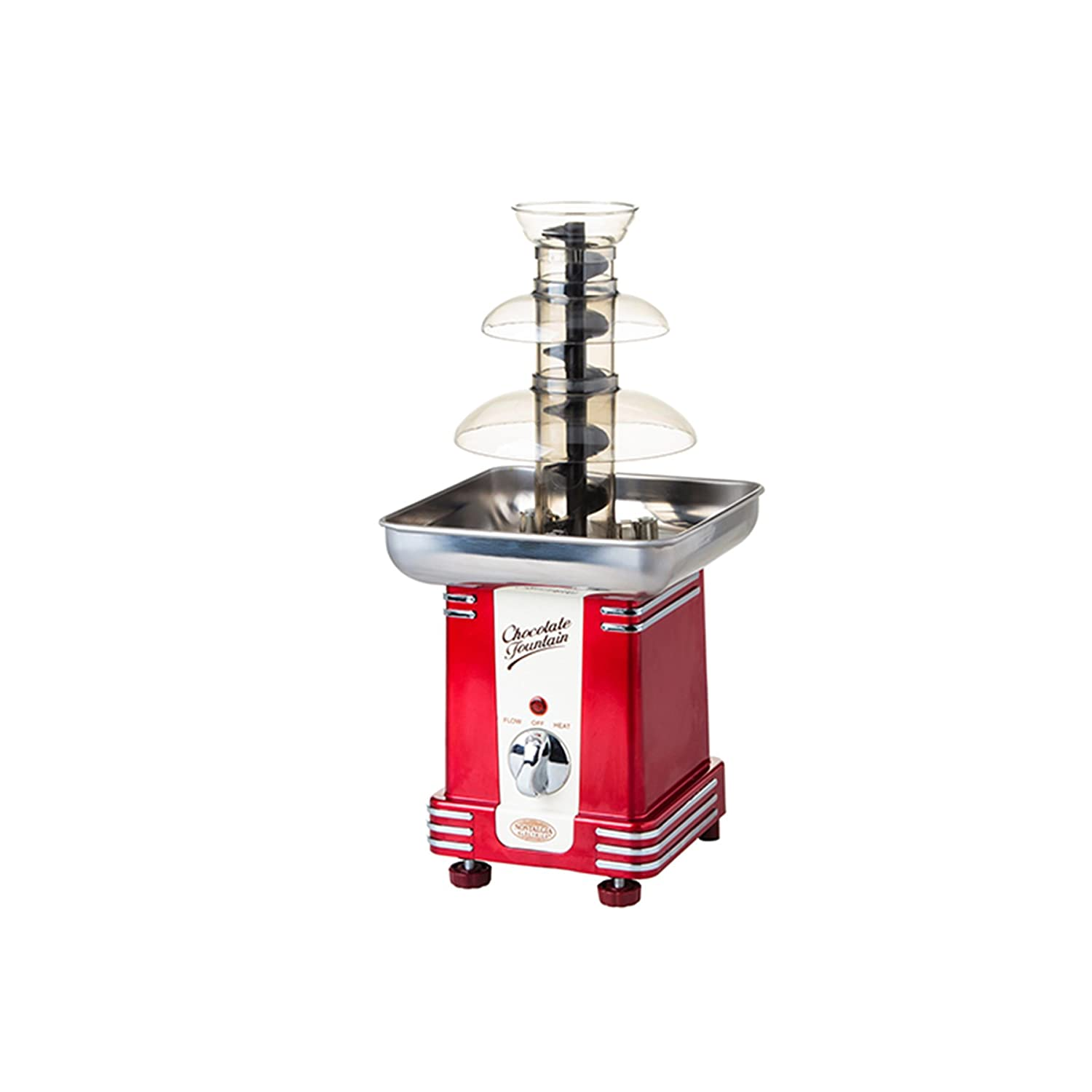 Tek Motion 27' 5-Tier Stainless Steel Chocolate Fondue Fountain LARGE for Big Wedding Party Hotel LEPAC6687