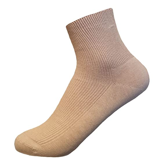 85ba52e483cc 100% Cotton Ankle Socks - Men's 3-pack Thin Gentle Grip Work/Casual/Dress  Socks: Amazon.ca: Clothing & Accessories