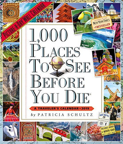- 1,000 Places to See Before You Die Picture-A-Day Wall Calendar 2019