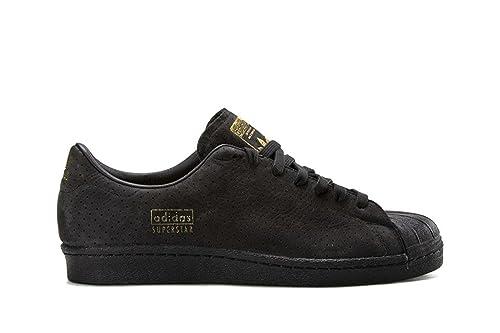 2017 Neu Adidas Superstar Schuhe weiss schwarz mit