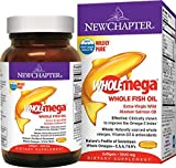 New Chapter Wholemega - Whole Fish Oil with Omegas and Vitamin D3 - 60 ct