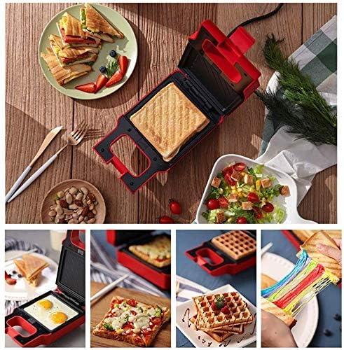 YHLZ Sandwich Maker, Panini machine multifonctions Sandwich Maker Avec Pan Sandwich amovible et Waffle Baking Pan, utilisé for la cuisson des aliments à frire et