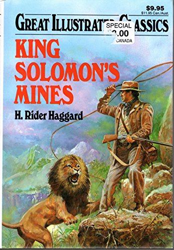 King Solomons Mines Great Illustrated CL