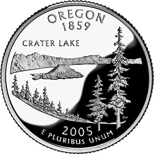 2005 P Bankroll of Oregon Statehood Uncirculated