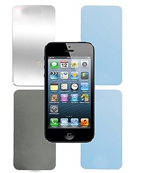 Cadorabo –4x Protector de pantalla transparente para Apple iPhone 5 / 5S / ES -