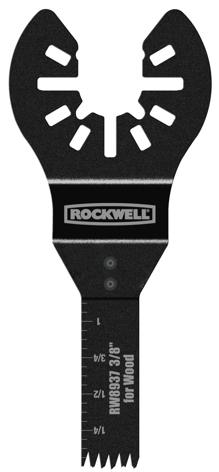 Rockwell RW8937 3/8-Inch Sonicrafter Oscillating Multitool Precision Wood End Cut Saw Blade with Universal Fit System
