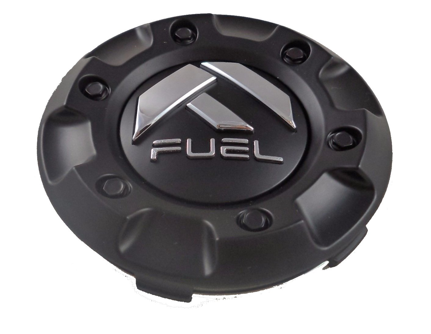 Fuel Matte Black Custom Wheel Center Cap ONE (1) M-447, 1001-58 Fuel Motorsports