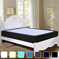 Twin Six Premium Box Spring Cover Update Bed Skirt Wrap Around Cover, Mattress Cover
