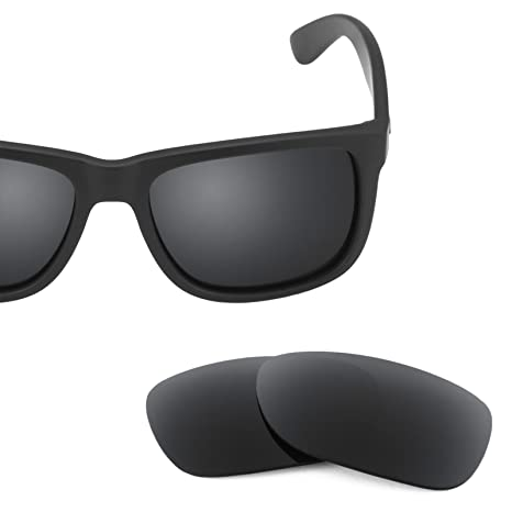 7044e78556 Revant Replacement Lenses for Ray-Ban Justin 54mm RB4165 2 Pair Combo Pack  K003  Amazon.co.uk  Sports   Outdoors