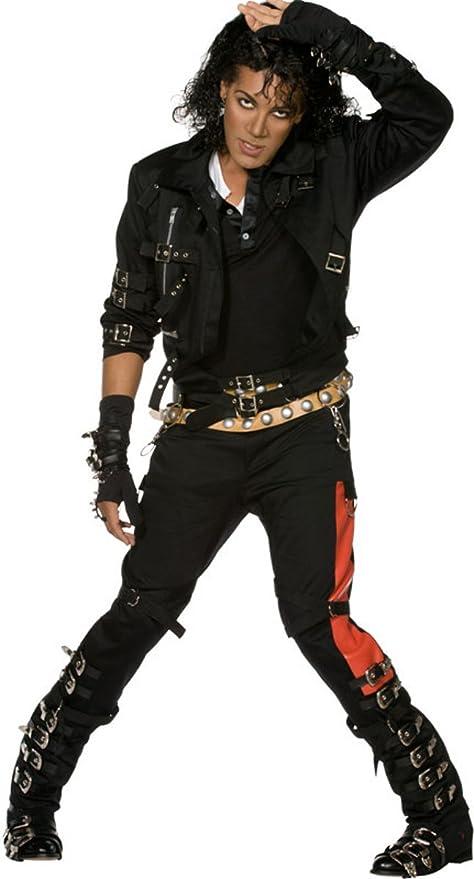 SMIFFYS Michael Jackson Bad Costume (Medium)  Amazon.it  Giochi e ... 7867cfc60791