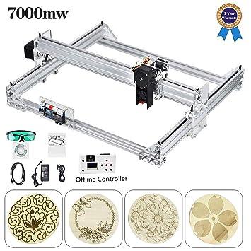 S SMAUTOP 40X30 CM Kits de grabador láser CNC de bricolaje Máquina ...