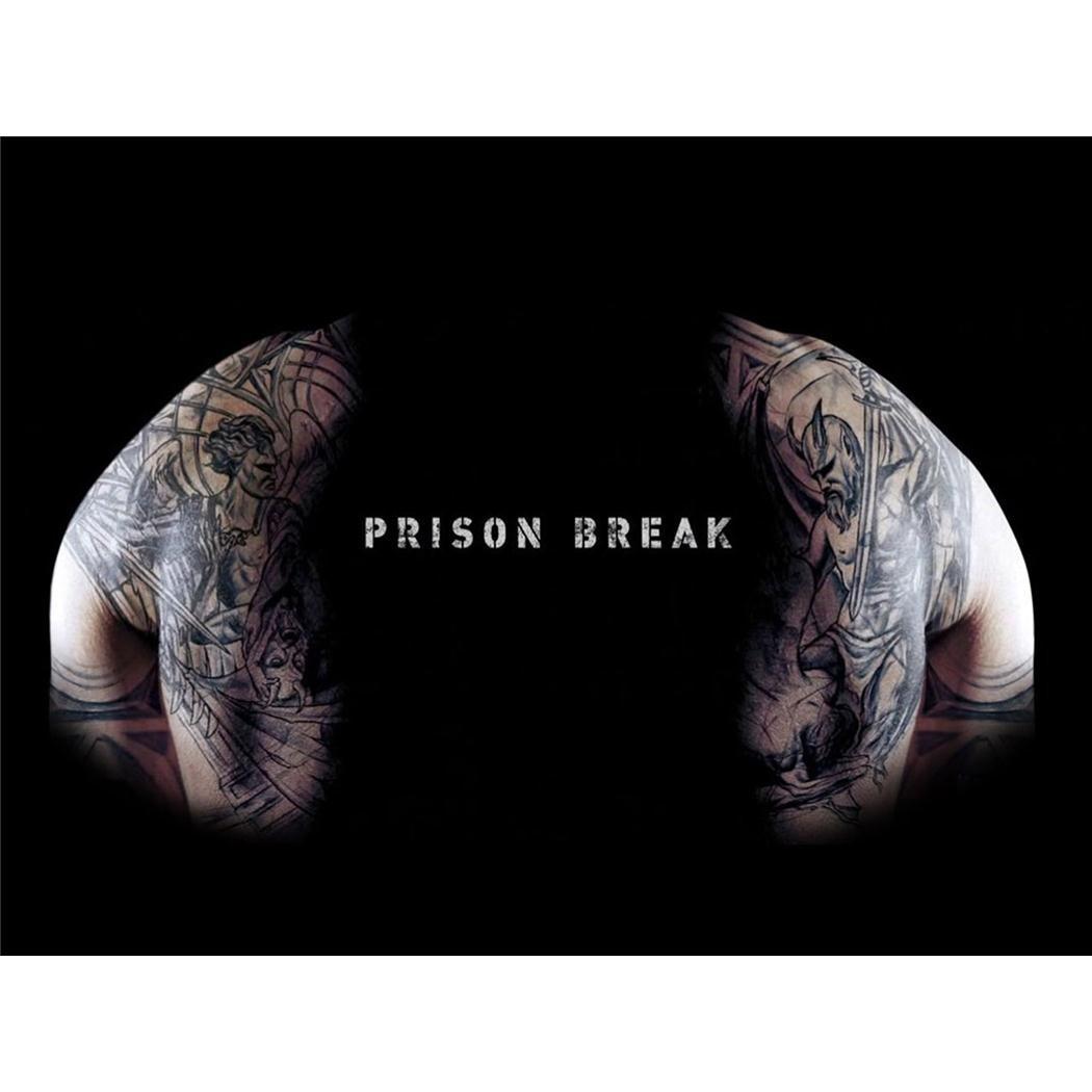 19inch x 14inch // 47cm x 35cm Prison Break Silk Print Poster B5090F Soie Affiche