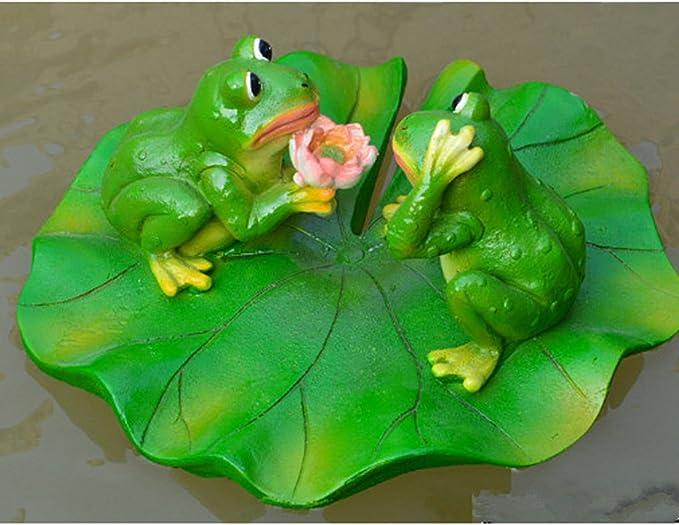 Amazon.es: 6 Estilo Estanque Agua Viva Flor De Loto Flotante ...