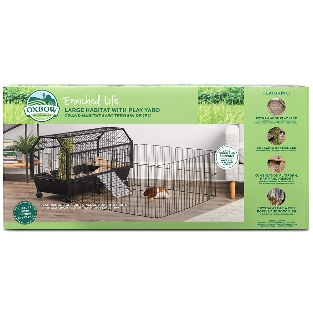 Oxbow Large Habitat with Play Yd by Oxbow