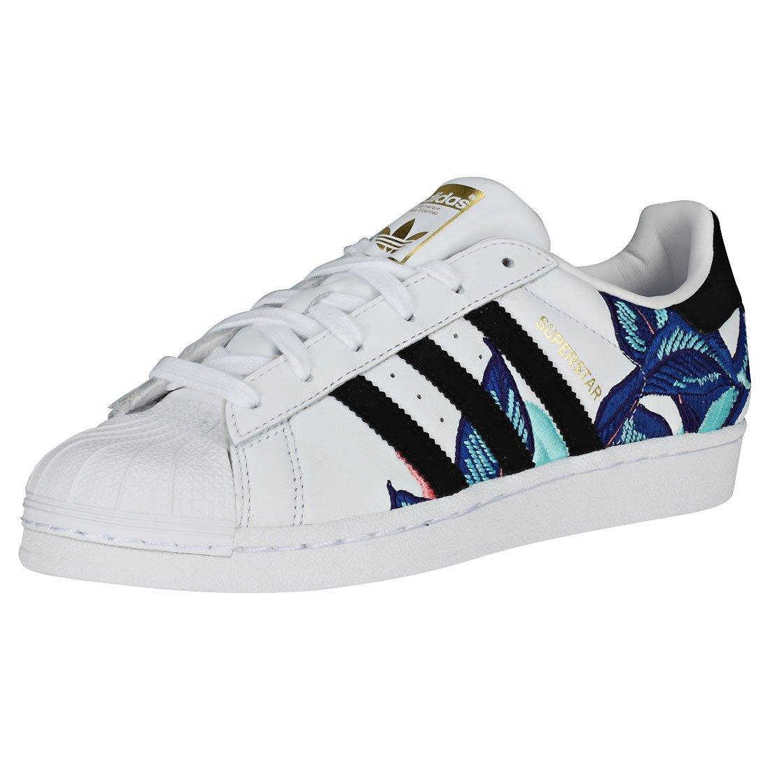 Adidas Superstar W, Zapatillas de Deporte para Mujer 40 2/3 EU Blanco (Blanco 000)