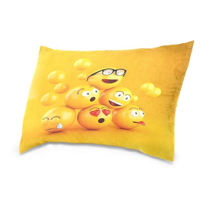 Amazon.com: ALAZA interés impresión cara de 3d amarillo ...