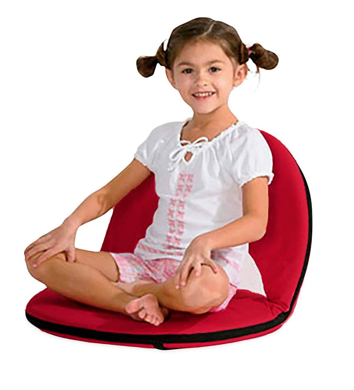 HearthSong Children s Child Floor Chair, 905 H x 20 L x 20 W, Red