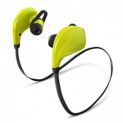 Energy Earphones BT Sport Green (Bluetooth and microphone)