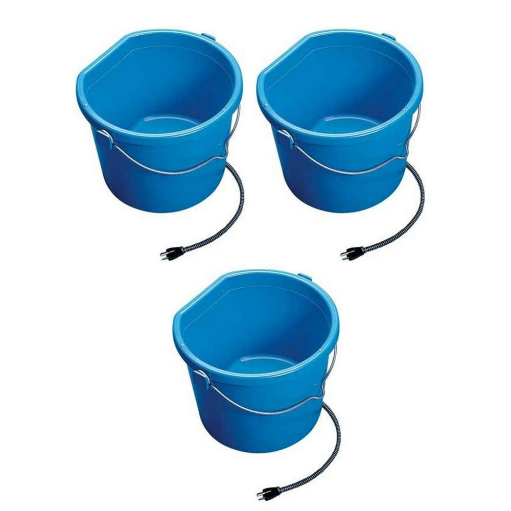 API Heated Flat Back Bucket (5 Gallon (3 pack))