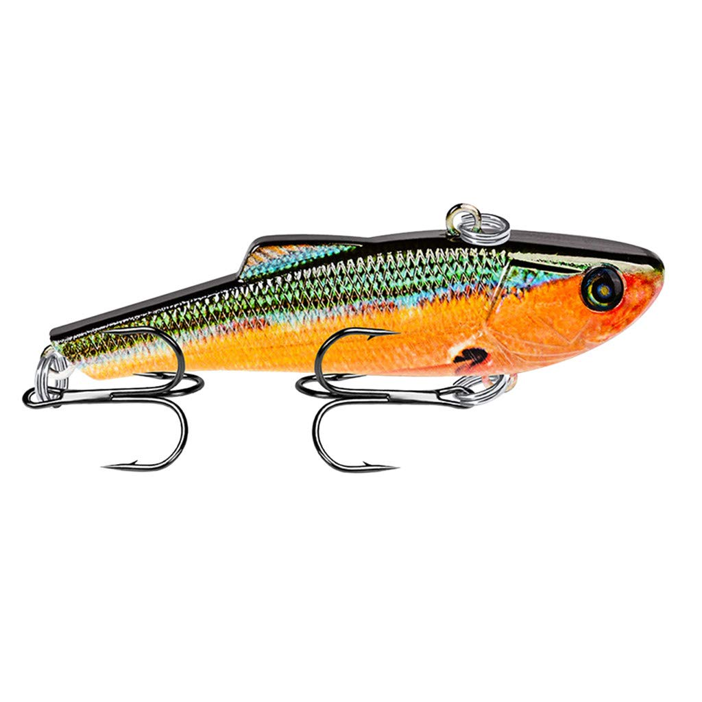 HighlifeS Fishing Bait Newest Artificial Fake Fish Bait More Colors Fishing Lure Bait Bionic Fishing Gear 1Pc (H)