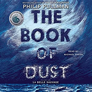 The Book of Dust audibook cover