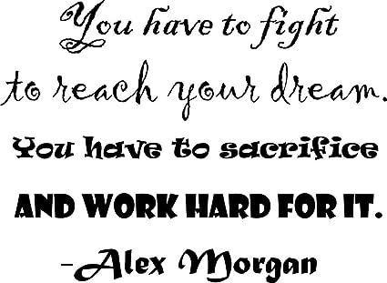 Amazon.com: ALEX MORGAN WALL DECALS FOR GIRLS BEDROOMS ...